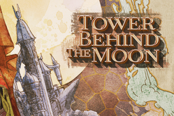 Public domain art for The Tower Behind the Moon by William T. Horton